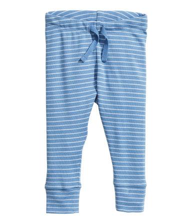Трикотажные брюки (Голубой)