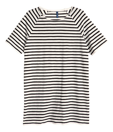 Полосатая футболка (Черный/Полоска)
