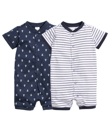 2 пижамы (Темно-синий)
