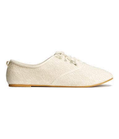 Ботинки (Белый/Кружево)