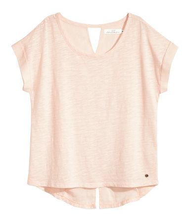 Топ с коротким рукавом (Розовый)