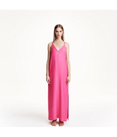 Длинное платье из лиоцелла (Не указан)