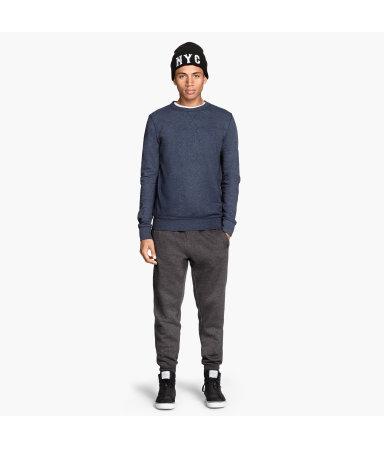 Спортивные брюки (Серый меланж)