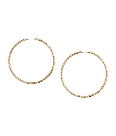 Креольские серьги (Золотистый)