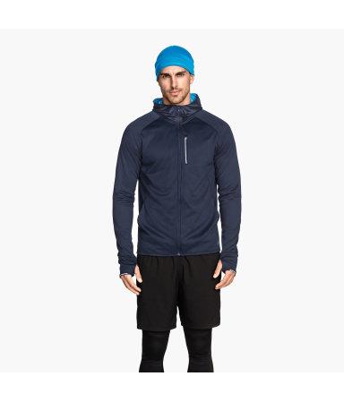 Куртка для бега (Темно-синий)