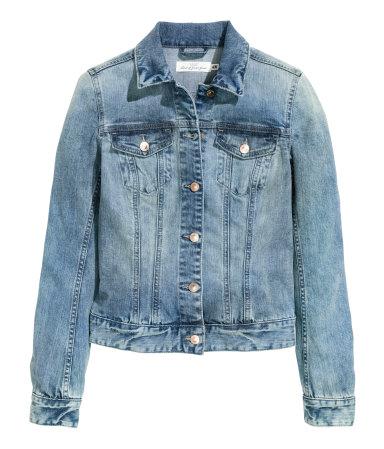 Джинсовая куртка (Голубой деним)