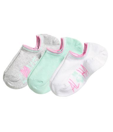 3 пары спортивных носков (Белый)