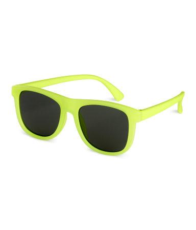 Солнцезащитные очки (Неоново-желтый)