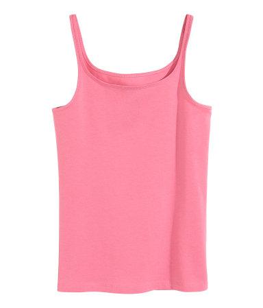 Трикотажная майка (Розовый)
