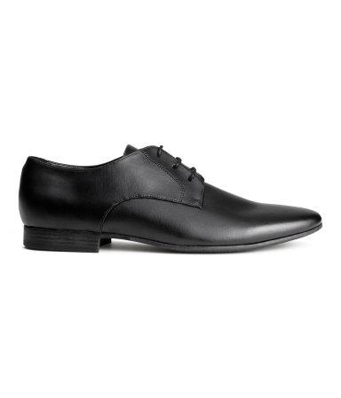 Ботинки дерби (Черный)