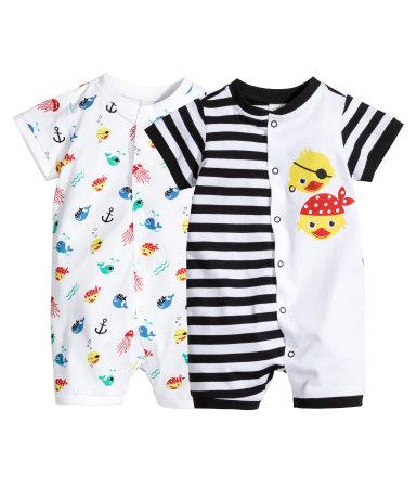 2 пижамы (Черный)