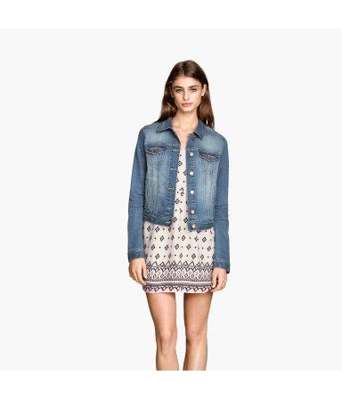 Джинсовая куртка (Синий деним)