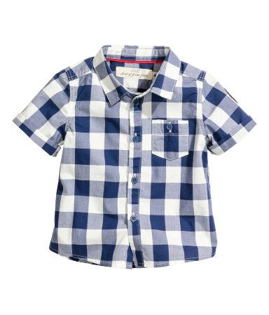 Рубашка х/б (Темно-синий)