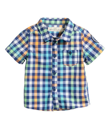 Рубашка х/б (Неоновый зеленый)