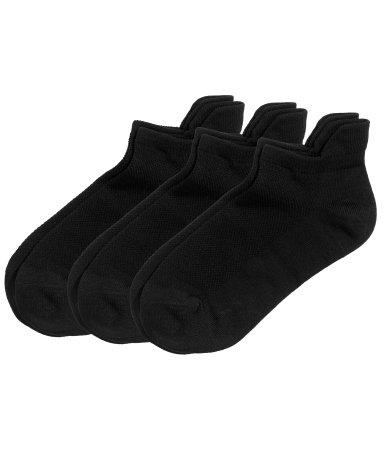 Носки, упаковка 3 пары (Черный)