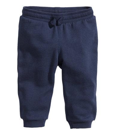 Байковые брюки (Темно-синий)