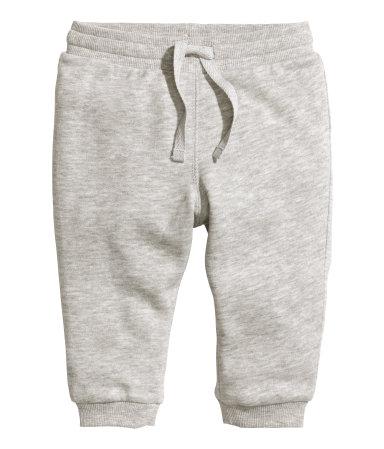 Байковые брюки (Серый меланж)