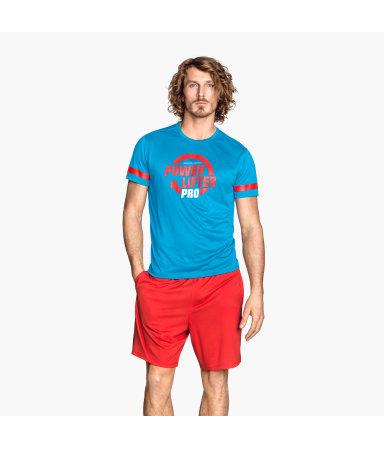 Спортивная футболка (Голубой)