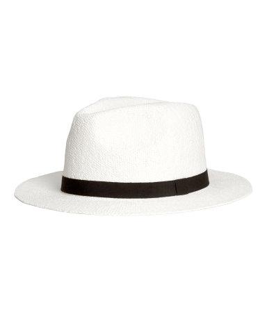 Соломенная шляпа (Белый)