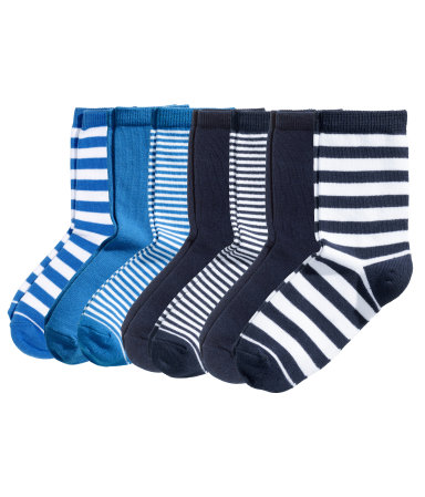 7 пар носков (Темно-синий)