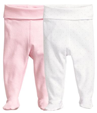 2 пары ползунков (Светло-розовый)