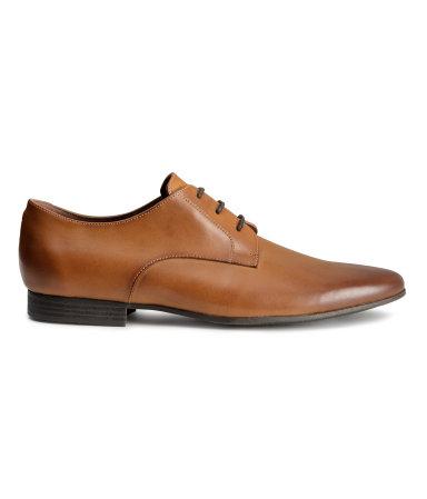 Туфли дерби (Коричневый)