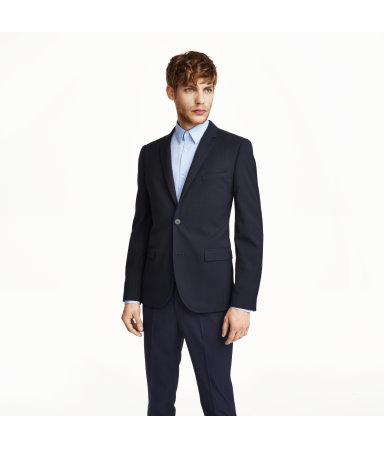 Пиджак Slim fit (Синий)