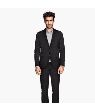 Пиджак Regular fit (Черный)