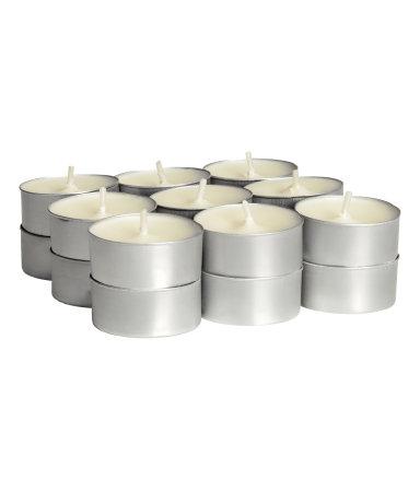 Ароматические свечи, 18 шт. (Ваниль)