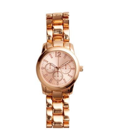 Наручные часы (Розовато-золотистый)