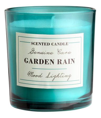 Ароматическая свеча (Дождь в саду)