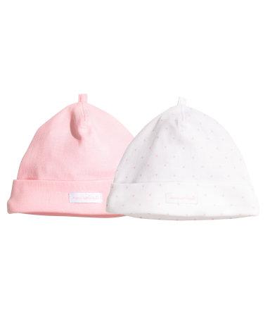 2 шапки (Светло-розовый)