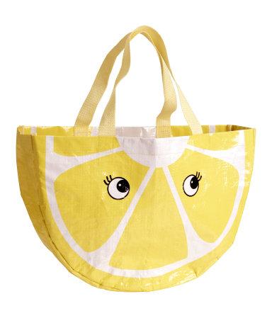 Пляжная сумка (Желтый)