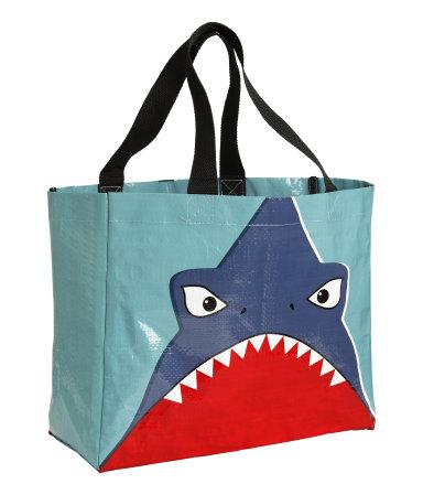 Пляжная сумка (Бирюзовый/Акула)