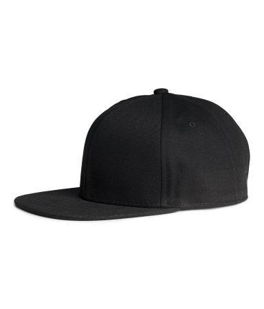 Х/б кепка (Черный)