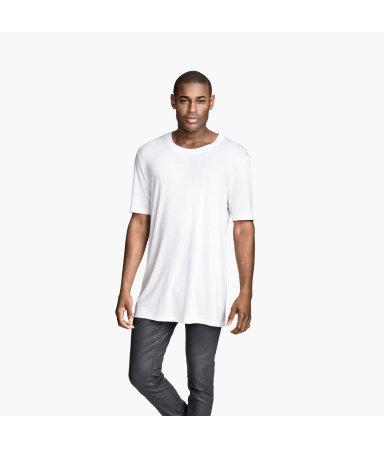 Трикотажная футболка (Белый)