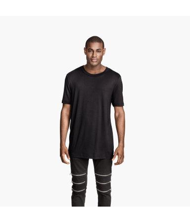 Трикотажная футболка (Черный)