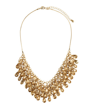 Ожерелье с подвесками (Золотистый)