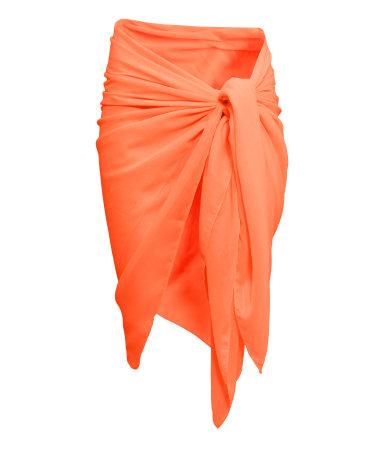 Саронг (Оранжевый)