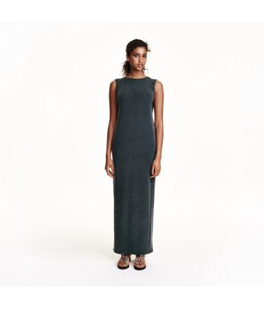 Платье макси (Черный)