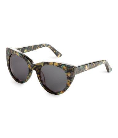Солнцезащитные очки (Зеленый/Узор)