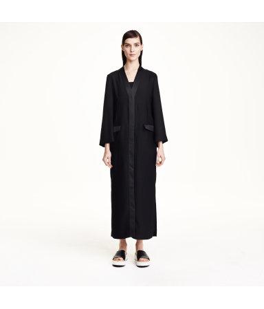 Платье-жакет (Черный)