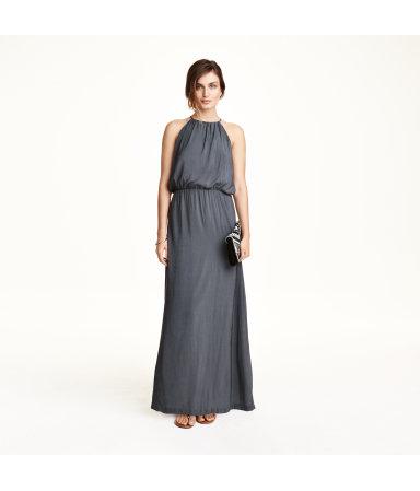 Платье без рукавов (Пудра)
