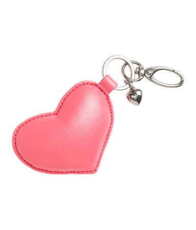 Брелок (Розовый/Сердце)