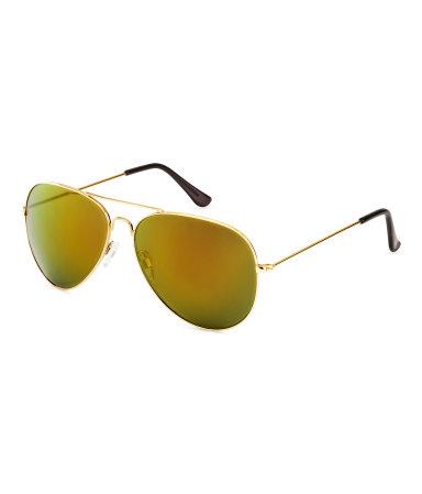 Солнцезащитные очки (Золотистый)