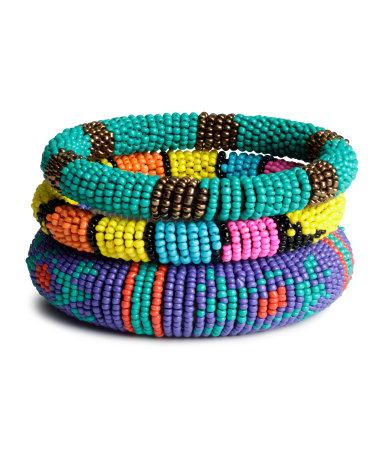 3 браслета (Разноцветный)