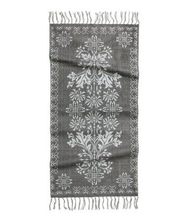 Х/б коврик (Темно-серый)