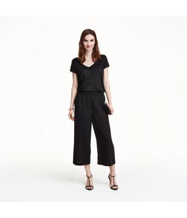 Юбка-брюки (Черный)