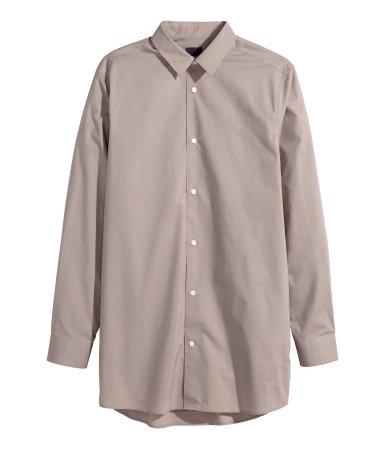 Длинная х/б рубашка (Кротовый)
