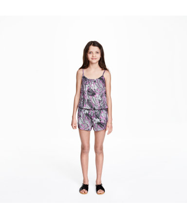 Комбинезон (Фиолетовый)